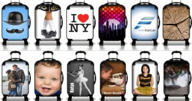 Luggage Pros Custom Suitcases - Various User Models